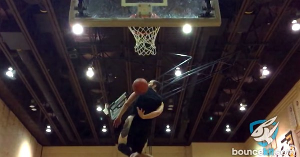 Le magique dunk « Lost and Found » de Jordan Kilganon